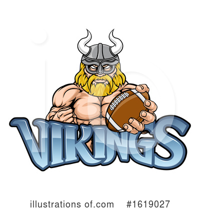 Viking Clipart #1619027 by AtStockIllustration