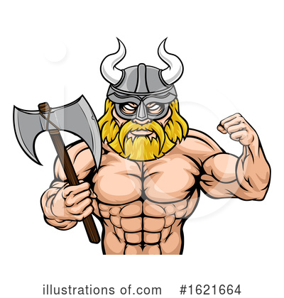 Viking Clipart #1621664 by AtStockIllustration