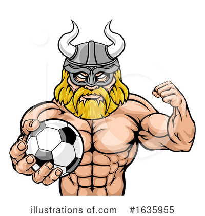 Viking Clipart #1635955 by AtStockIllustration