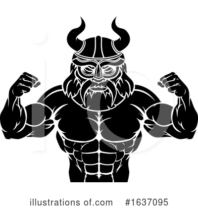 Viking Clipart #1637095 by AtStockIllustration