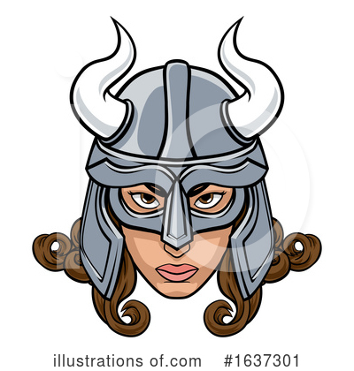 Viking Clipart #1637301 by AtStockIllustration