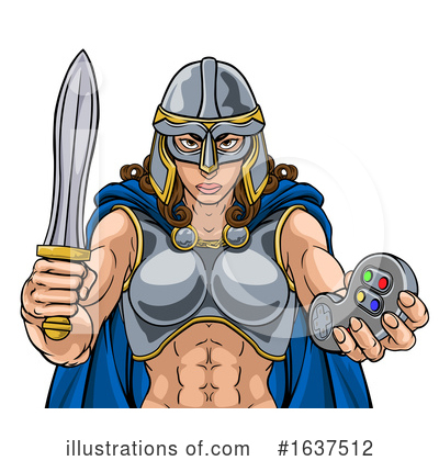 Viking Clipart #1637512 by AtStockIllustration