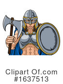 Viking Clipart #1637513 by AtStockIllustration