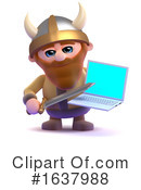 Viking Clipart #1637988 by Steve Young