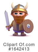 Viking Clipart #1642413 by Steve Young