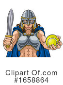 Viking Clipart #1658864 by AtStockIllustration
