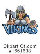 Viking Clipart #1661638 by AtStockIllustration