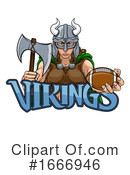 Viking Clipart #1666946 by AtStockIllustration