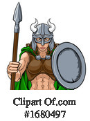 Viking Clipart #1680497 by AtStockIllustration