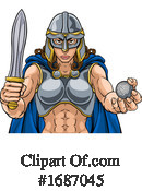 Viking Clipart #1687045 by AtStockIllustration