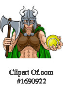 Viking Clipart #1690922 by AtStockIllustration