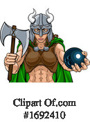 Viking Clipart #1692410 by AtStockIllustration