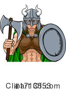 Viking Clipart #1713553 by AtStockIllustration