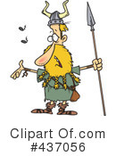 Viking Clipart #437056 by toonaday