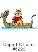 Royalty-Free (RF) Viking Clipart Illustration #6223