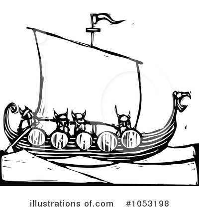 Viking Clipart #1053198 by xunantunich