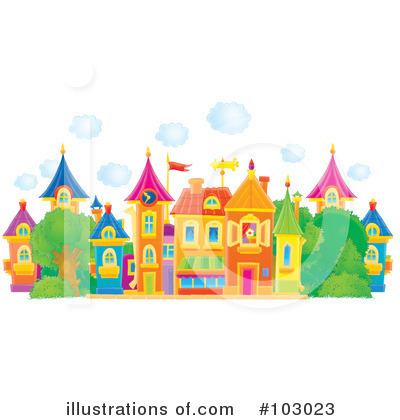 Village Clipart #103023 by Alex Bannykh
