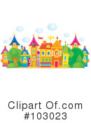 Royalty-Free (RF) village Clipart Illustration #103023