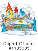 Royalty-Free (RF) village Clipart Illustration #1135335
