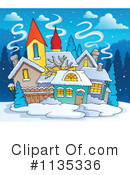 Royalty-Free (RF) village Clipart Illustration #1135336