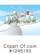 Royalty-Free (RF) Village Clipart Illustration #1245193