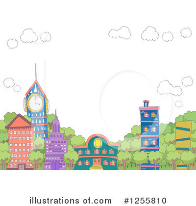 Village Clipart #1255810 by BNP Design Studio