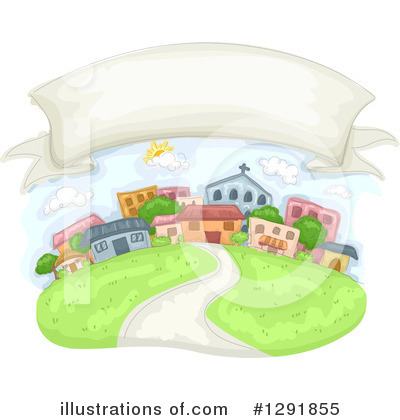 Village Clipart #1291855 by BNP Design Studio