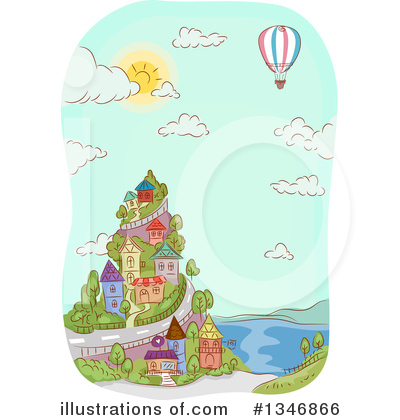 Village Clipart #1346866 by BNP Design Studio