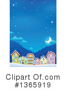 Royalty-Free (RF) Village Clipart Illustration #1365919