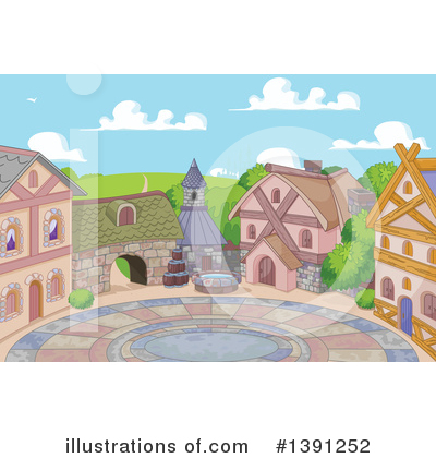 Village Clipart #1391252 by Pushkin