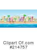 Royalty-Free (RF) village Clipart Illustration #214757