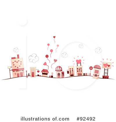 Village Clipart #92492 by BNP Design Studio