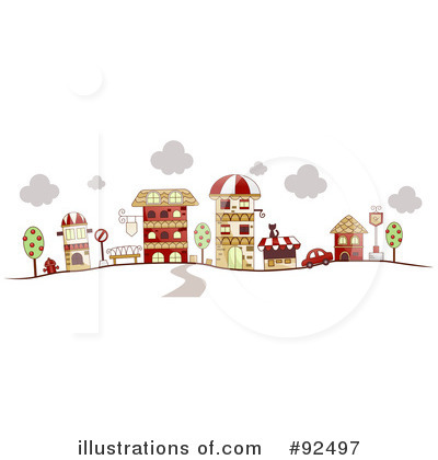 Village Clipart #92497 by BNP Design Studio