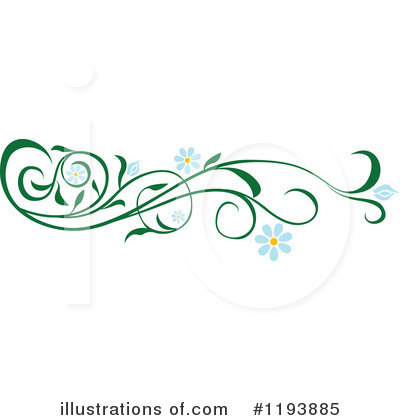 Royalty-Free (RF) Vine Clipart Illustration by dero - Stock Sample #1193885
