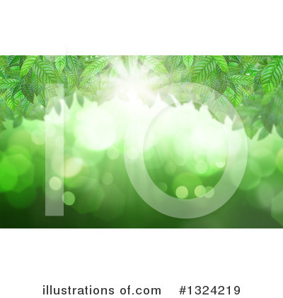Leaves Clipart #1324219 by KJ Pargeter