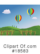 Royalty-Free (RF) Vineyard Clipart Illustration #18583