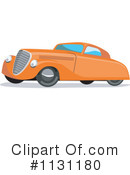 Royalty-Free (RF) Vintage Car Clipart Illustration #1131180