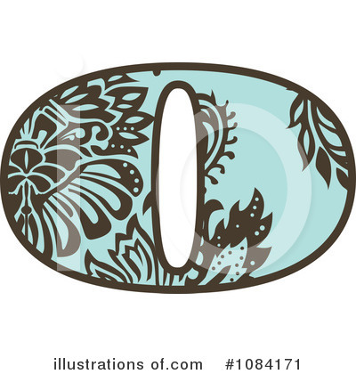 Vintage Numbers Clipart #1084171 by BestVector