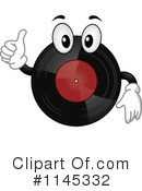 Royalty-Free (RF) Vinyl Record Clipart Illustration #1145332