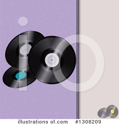 Vinyl Records Clipart #1308209 by elaineitalia