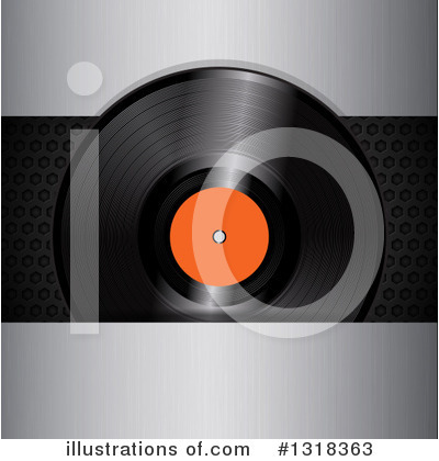 Vinyl Records Clipart #1318363 by elaineitalia