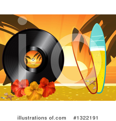 Vinyl Records Clipart #1322191 by elaineitalia