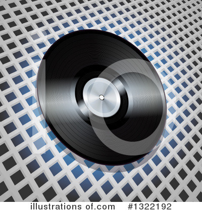 Vinyl Records Clipart #1322192 by elaineitalia