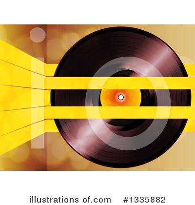 Vinyl Records Clipart #1335882 by elaineitalia