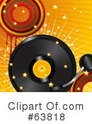 Royalty-Free (RF) Vinyl Record Clipart Illustration #63818