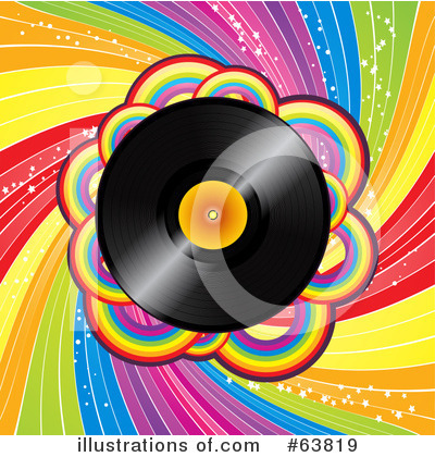 Vinyl Records Clipart #63819 by elaineitalia