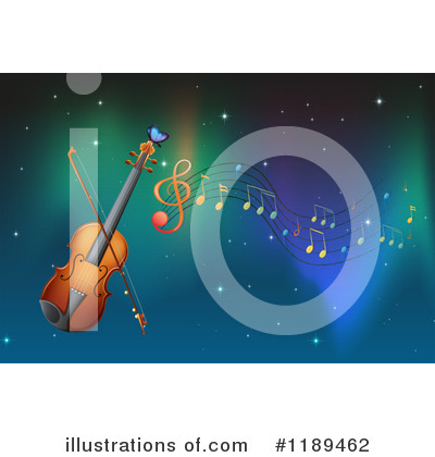 Violin Clipart #1189462 by Graphics RF