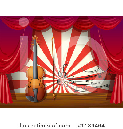 Violin Clipart #1189464 by Graphics RF