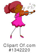 Violin Clipart #1342220 by Graphics RF