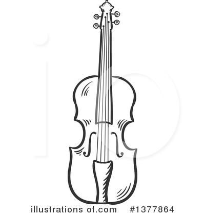 violin clipart #1377864 - illustrationvector tradition sm